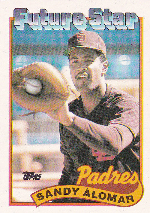 1989 Topps Sandy Alomar