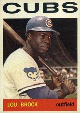1964 Topps Lou Brock