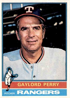 1976 Topps Gaylord Perry