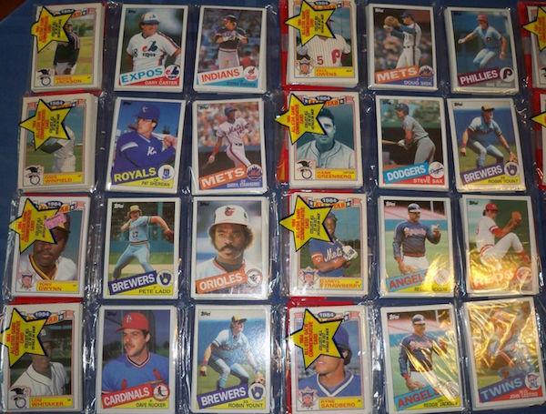 1985 Topps Rack Packs