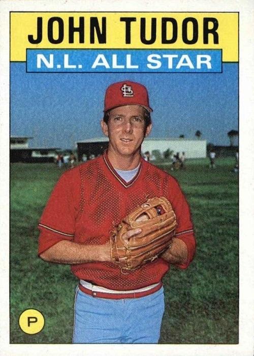 1986 Topps All-Star John Tudor