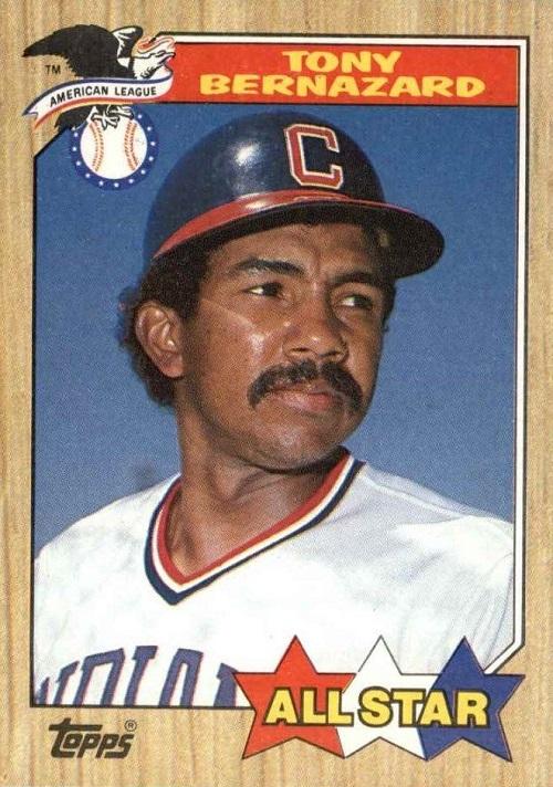1987 Topps All-Star Tony Bernazard