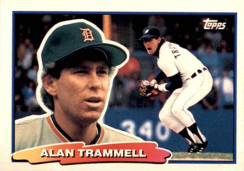 1988 Topps Big Alan Trammell