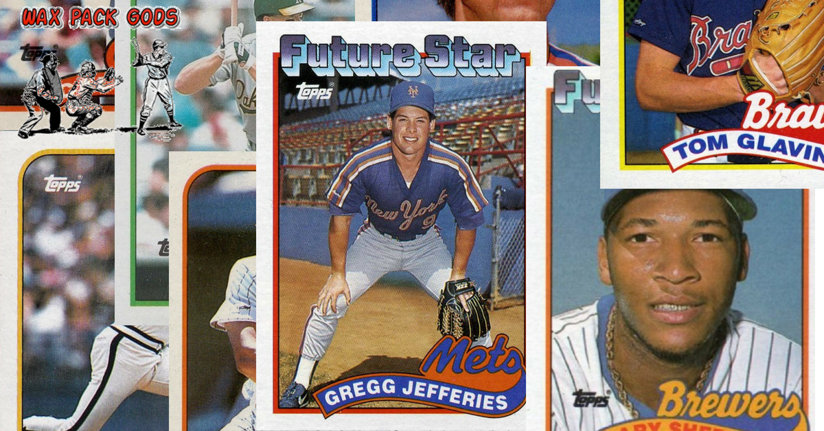 10 Most Valuable 1989 Topps Baseball Cards