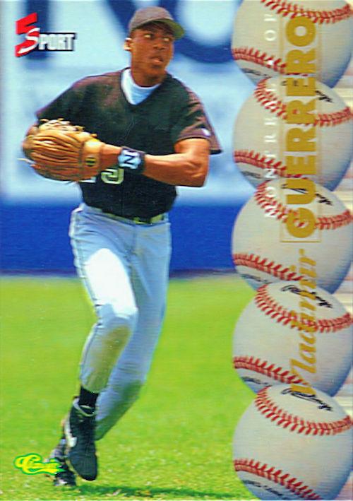 1995 Classic 5 sport vladimir guerrero