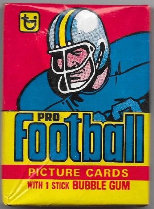 1978 Topps Football Unopened Wax Pack Box