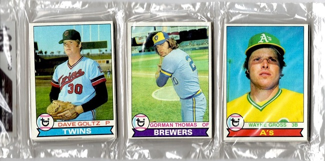1979 Topps Baseball Rack Pack