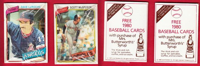 1980 Topps Mrs. Butterworth Front
