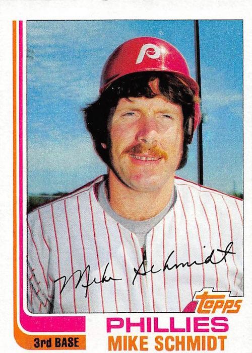 1982 Topps Mike Schmidt (#100)