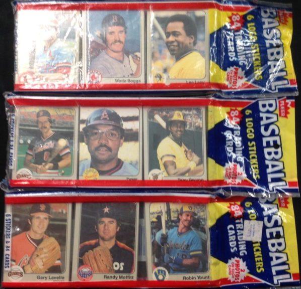 1983 Fleer Rack Packs