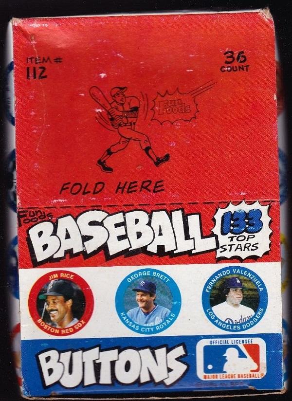 1984 Fun Foods Unopened Box