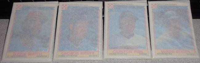 1984 Ralston Purina Baseball Cards Unopened Packs