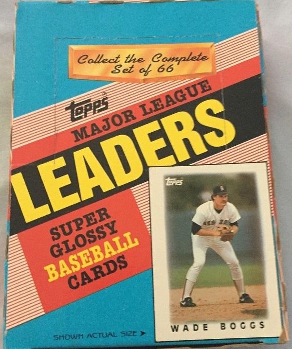 1986 Topps Minis Major League Leaders