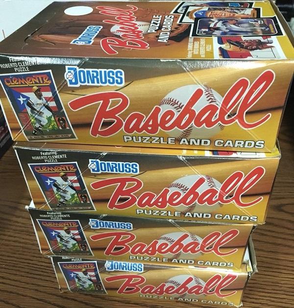 1987 Donruss Wax Boxes