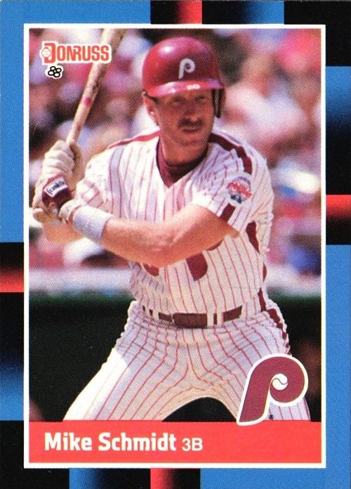 1988 Donruss Mike Schmidt (#330)