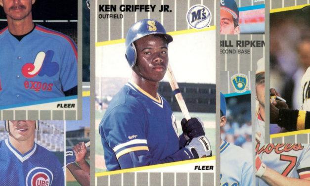 1989 Fleer Baseball Cards – 10 Most Valuable