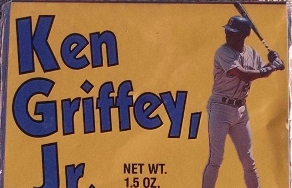 Ken Griffey Jr Candy Bar