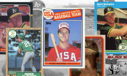 The Big 5 — A Rundown of Major Mark McGwire Rookie Cards