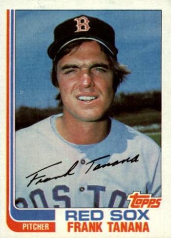 1982 Topps Frank Tanana