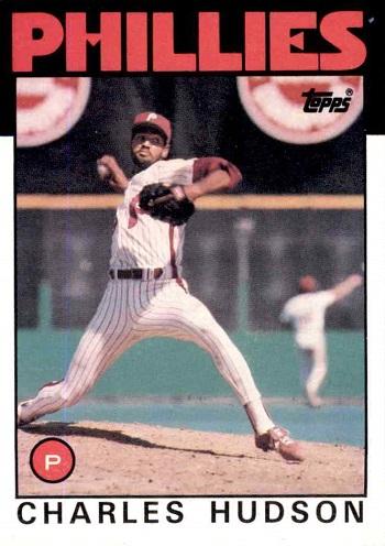 1986 Topps Charles Hudson
