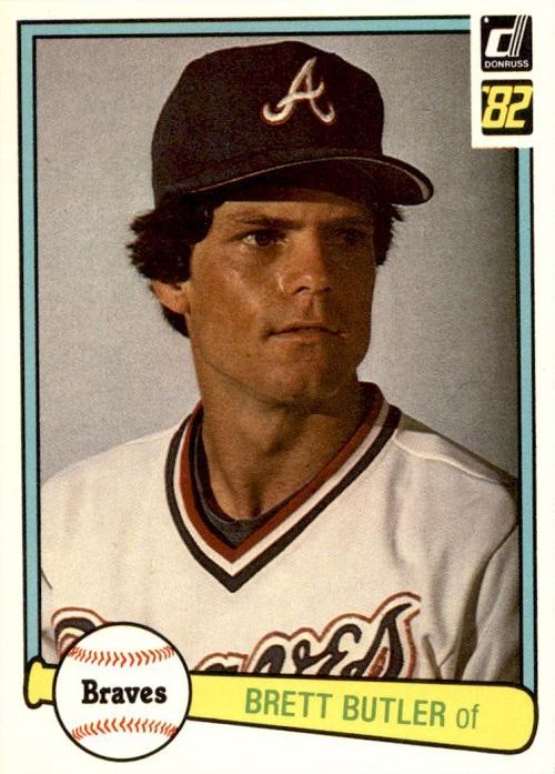 1982 Donruss Brett Butler
