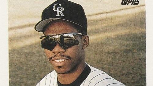 1993 Topps Alex Cole Was Shinier than a Colorado Rockies Playoff Berth