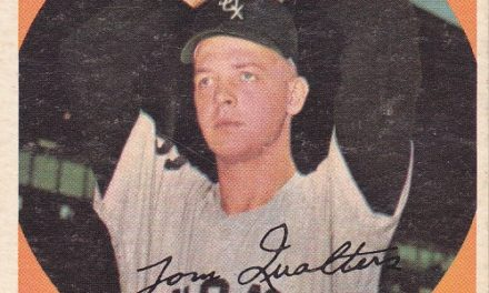 Bonus, Baby! How Tom Qualters Landed on a 1959 Topps Card for the White Sox