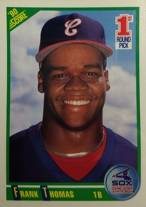 1990 Score Frank Thomas Rookie Card