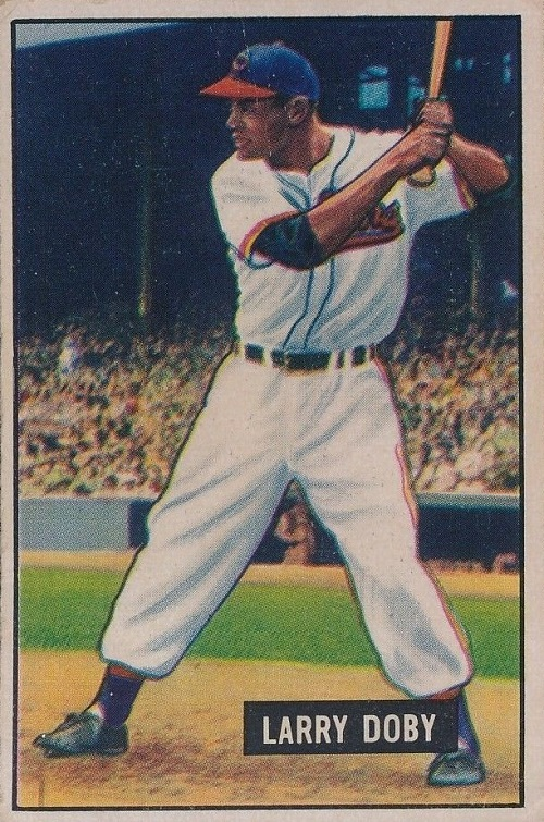 1951 Bowman Larry Doby