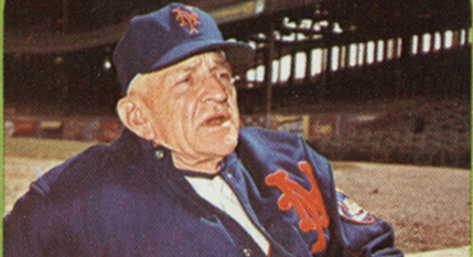 The 1965 Topps Casey Stengel Card Wants to Explain Cold Weather Baseball to You