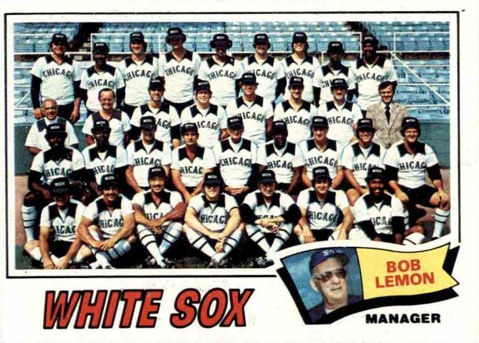 1977 Topps Chicago White Sox Team Card