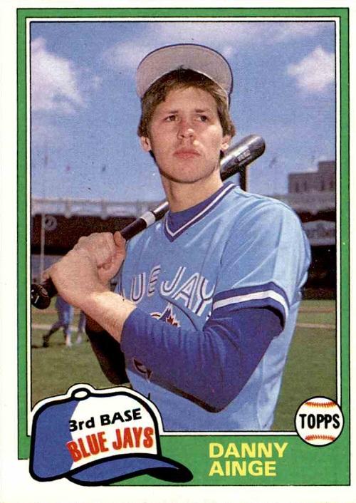 1981 Topps Traded Danny Ainge