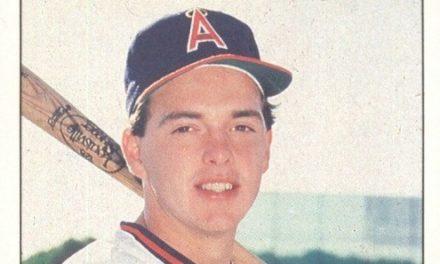 1986 Fleer Baseball's Best Wally Joyner Fed the Rookie Card Bulls