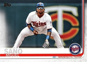 2019 Topps Miguel Sano Channels Your Inner Kent Hrbek