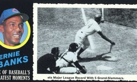 1971 Topps Greatest Moments Ernie Banks Lets Collectors 'Play Two' with His Final Baseball Cards