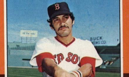 1975 Topps Mario Guerrero Shows the Sunnier Side of Fenway Park