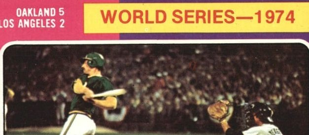 Come See Ken Holtzman Close the Loop on His 1975 Topps World Series Card