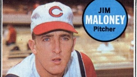 Get Your 1969 Topps Jim Maloney Before It Gives Up Another Hit