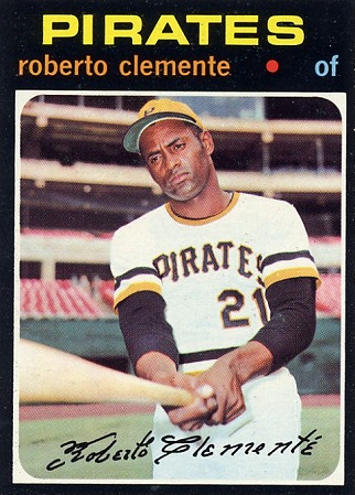 1971 Topps Roberto  Clemente