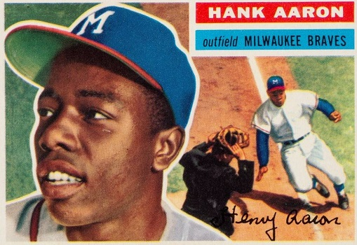1956 Topps Hank Aaron