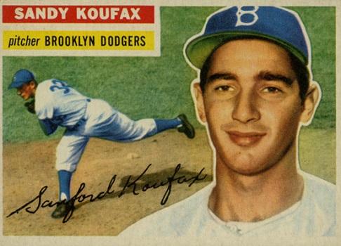 1956 Topps Sandy Koufax