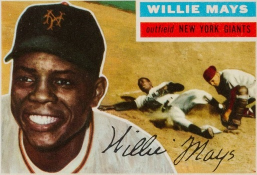 1956 Topps Willie Mays