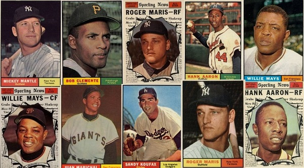 1961 Topps Baseball Cards – 12 Most Valuable
