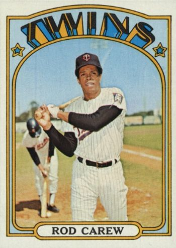 1972 Topps Rod Carew