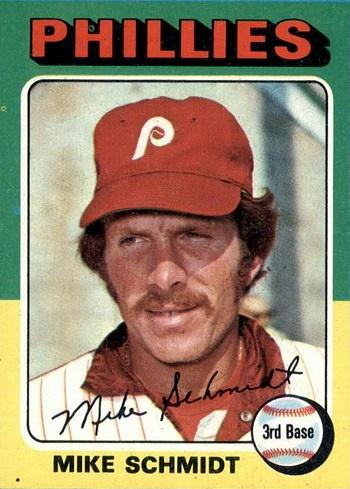 1975 Topps Mike Schmidt (#70)