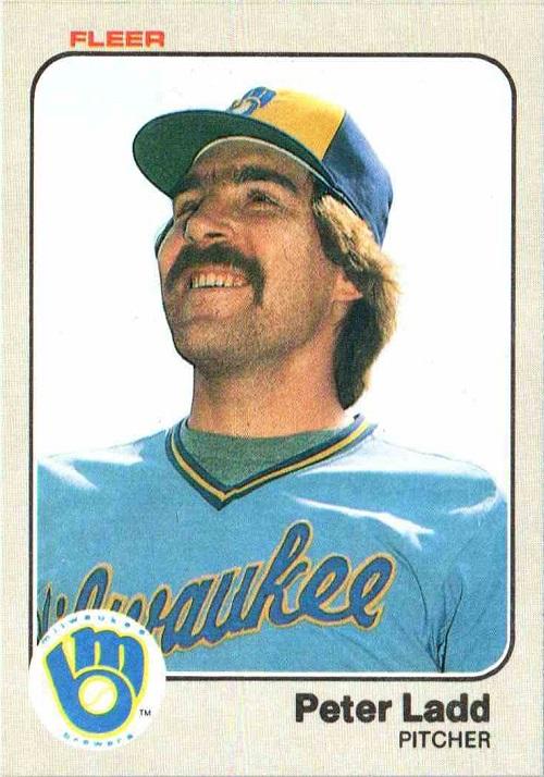 1983 Fleer Pete Ladd