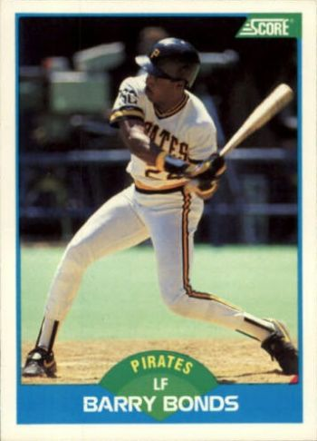 1989 Score Barry Bonds