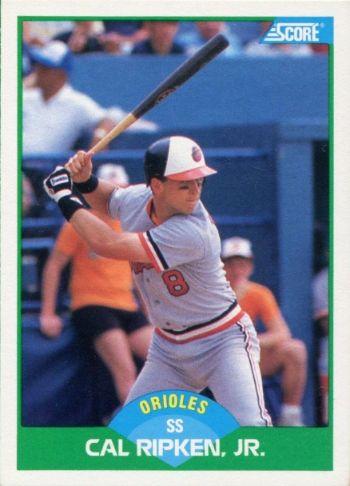1989 Score Cal Ripken Jr.