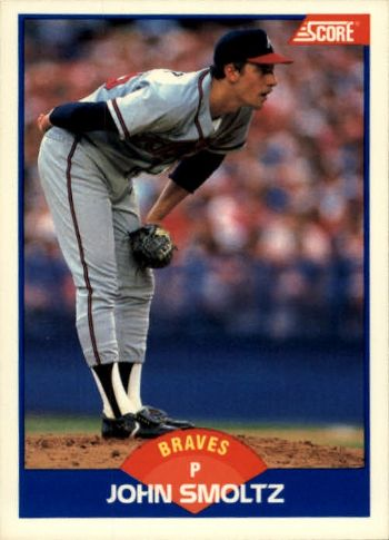 1989 Score John Smoltz Rookie Card