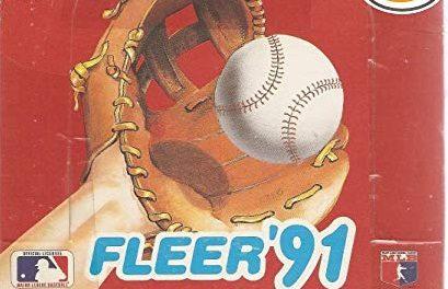 10 Most Valuable 1991 Fleer Baseball Cards